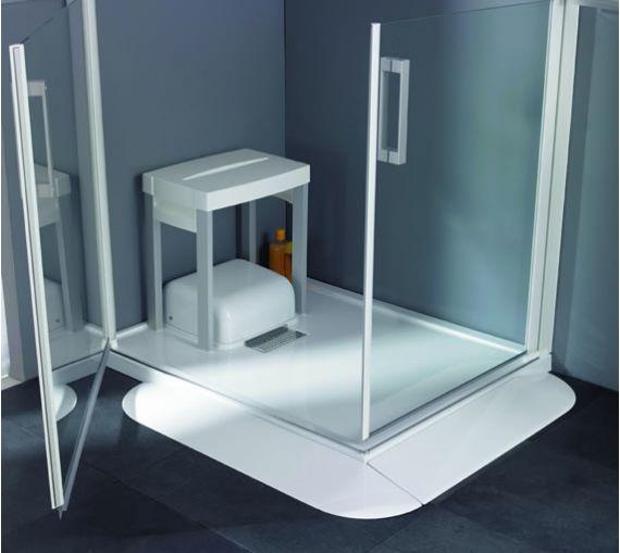 receveur de douche avec pompe de relevage