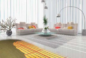 giacomince un plancher chauffant r versible faible paisseur chauffage isolation economies. Black Bedroom Furniture Sets. Home Design Ideas