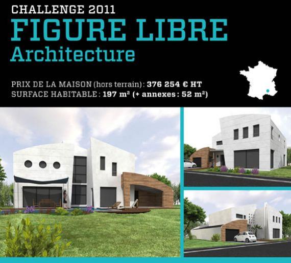 7 m dailles d or pour le 6e challenge des maisons innovantes architecture - Figure libre architecture ...