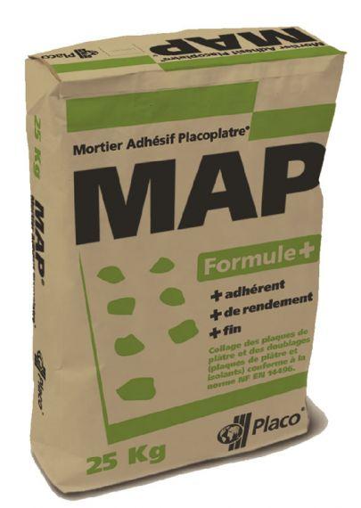 map formule un mortier plus performant pour le placo mat riaux et menuiseries. Black Bedroom Furniture Sets. Home Design Ideas