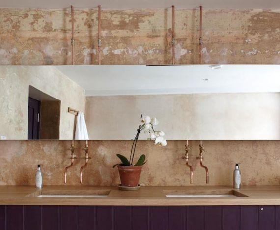 architecture d int rieur les canalisations en cuivre se d voilent chroniques du cuivre. Black Bedroom Furniture Sets. Home Design Ideas