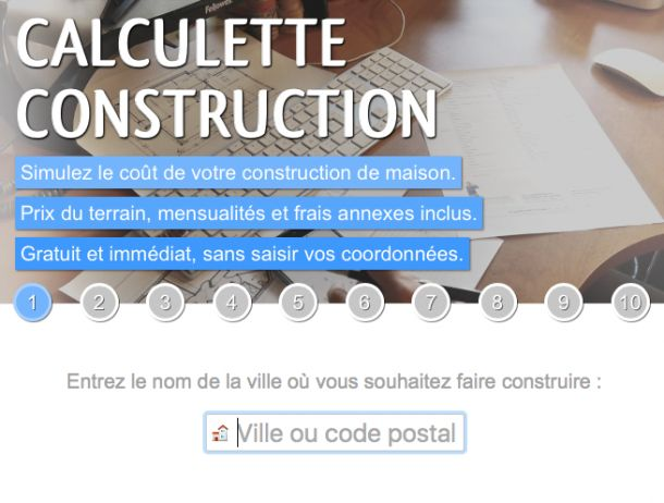 ForumConstruire lance sa calculette construction avec un jeu concours exceptionnel !