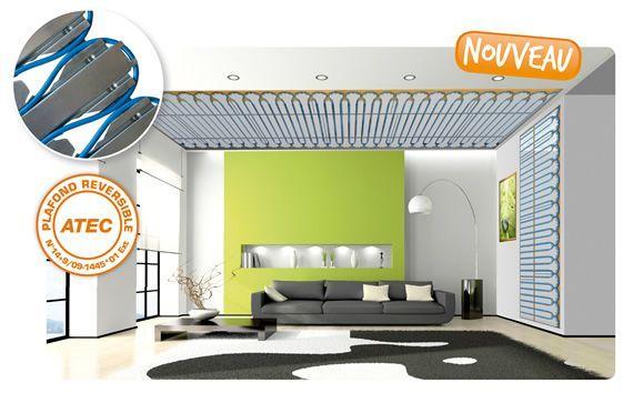 Acosense acome chauffe et rafra chit murs et plafonds chauffage isolatio - Plafond rayonnant hydraulique ...