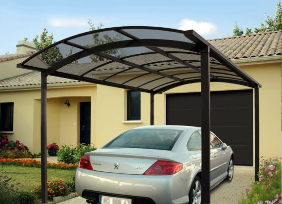 novoferm lance ses abris carport en aluminium jardins. Black Bedroom Furniture Sets. Home Design Ideas