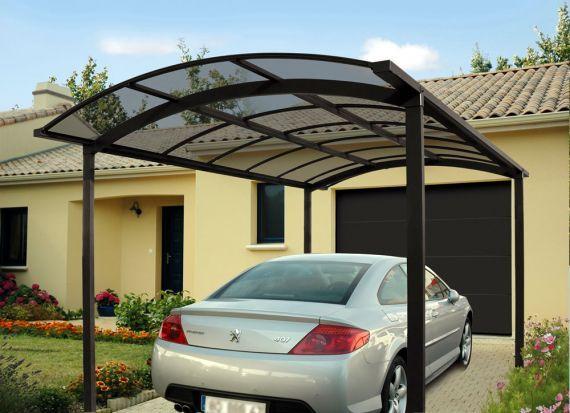 novoferm lance ses abris carport en aluminium jardins et exterieurs. Black Bedroom Furniture Sets. Home Design Ideas