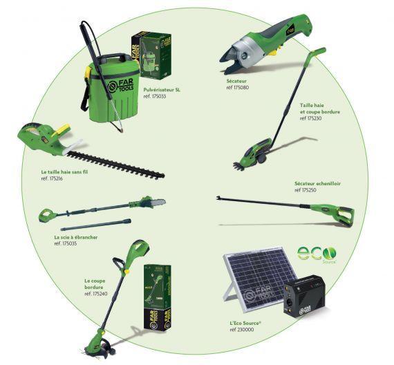 Far Tools présente sa gamme d\'outils de jardin sans fil - Jardins et ...
