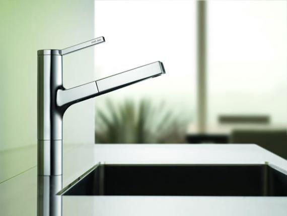 robinet de cuisine design kwc ava cuisine et salle de bain. Black Bedroom Furniture Sets. Home Design Ideas