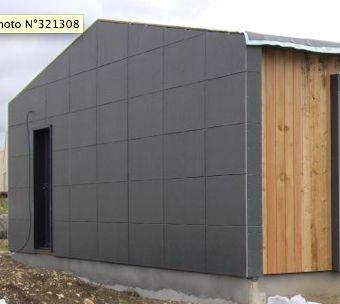 Le bardage bois composite etc for Plaque de facade exterieur
