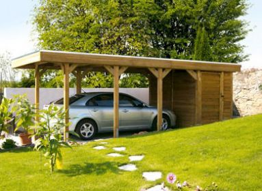 Les structures pratiques et malines pour votre abri de for Abri jardin sans entretien