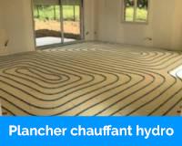 Le plancher chauffant hydraulique basse température