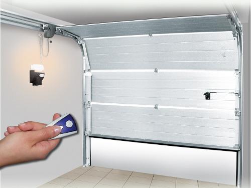 Motorisations pour porte de garage - Porte de garage accordeon ...