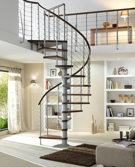 les diff rents types d 39 escaliers. Black Bedroom Furniture Sets. Home Design Ideas