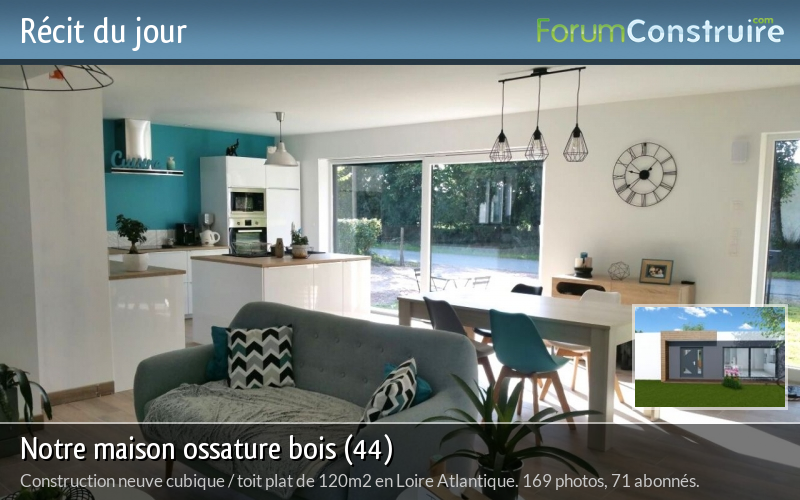 gallery of sur notre maison ossature bois with forum. Black Bedroom Furniture Sets. Home Design Ideas