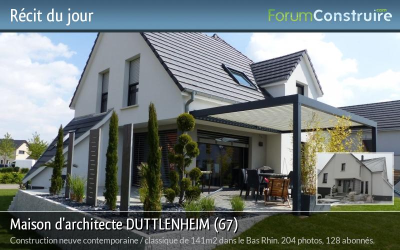Maison d'architecte DUTTLENHEIM (67)