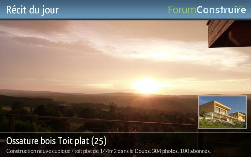 Ossature bois Toit plat (25)