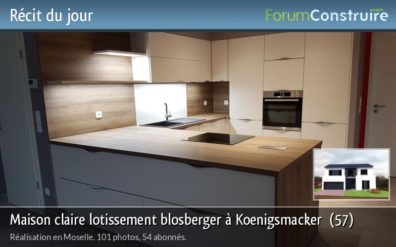 Maison claire lotissement blosberger à Koenigsmacker  (57)