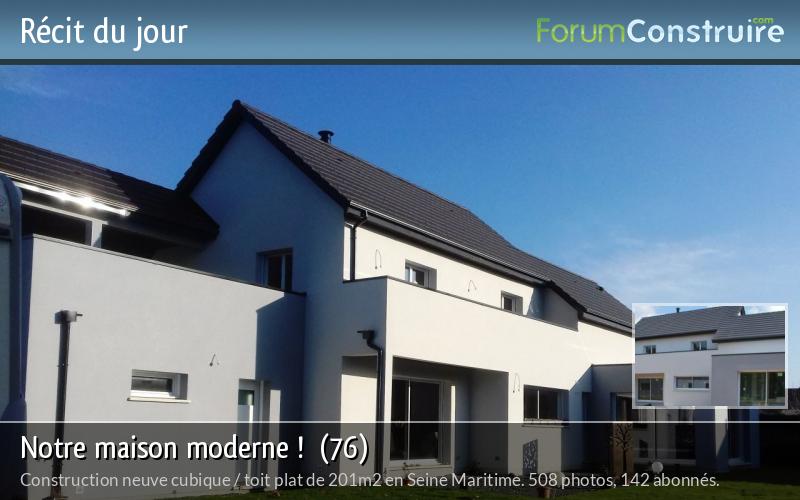 Notre maison moderne !  (76)