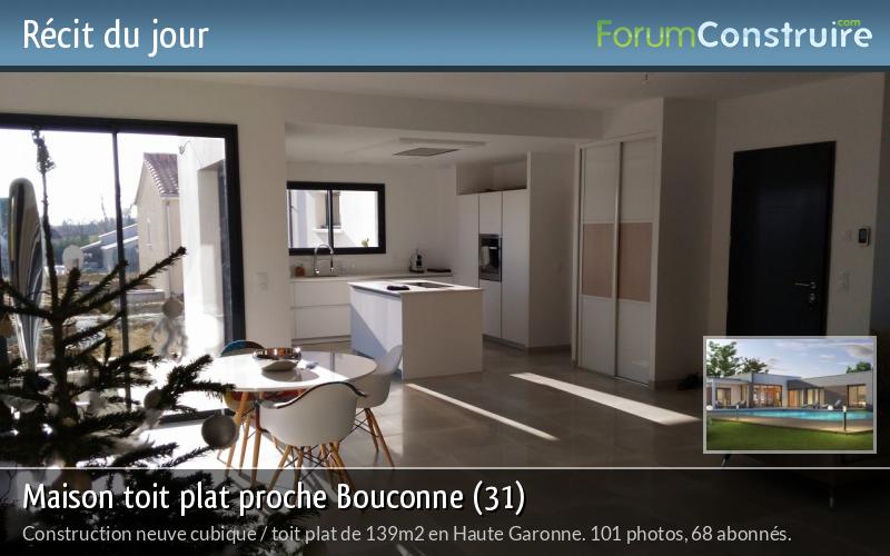 Maison toit plat proche Bouconne (31)