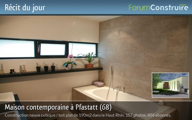 Maison contemporaine à Pfastatt (68)
