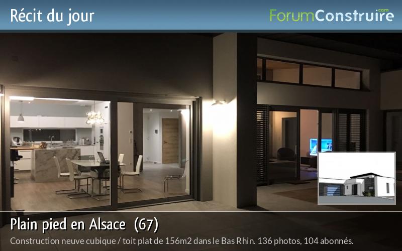 Plain pied en Alsace  (67)