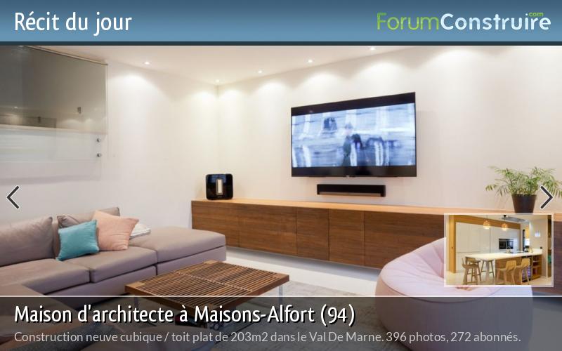 Maison d'architecte à Maisons-Alfort (94)