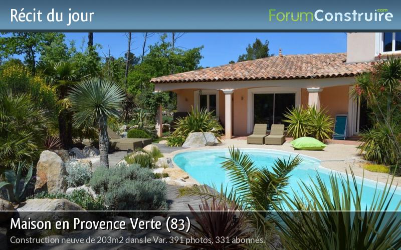 Maison en Provence Verte (83)
