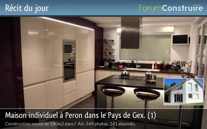 Maison individuel à Peron dans le Pays de Gex. (1)