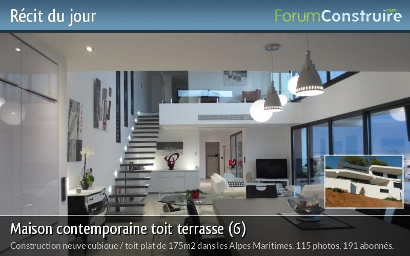 Maison contemporaine toit terrasse (6)