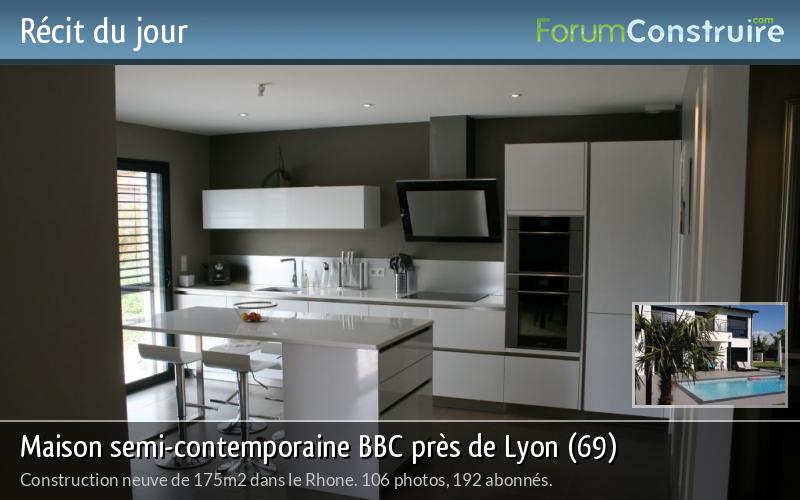 Maison semi-contemporaine BBC près de Lyon (69)
