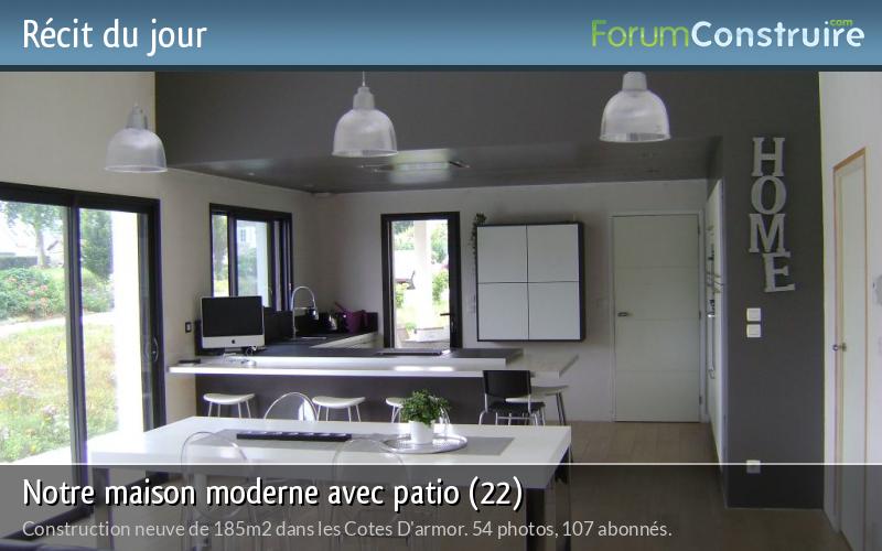 Notre maison moderne avec patio (22)