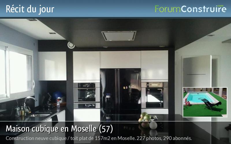 Maison cubique en Moselle (57)