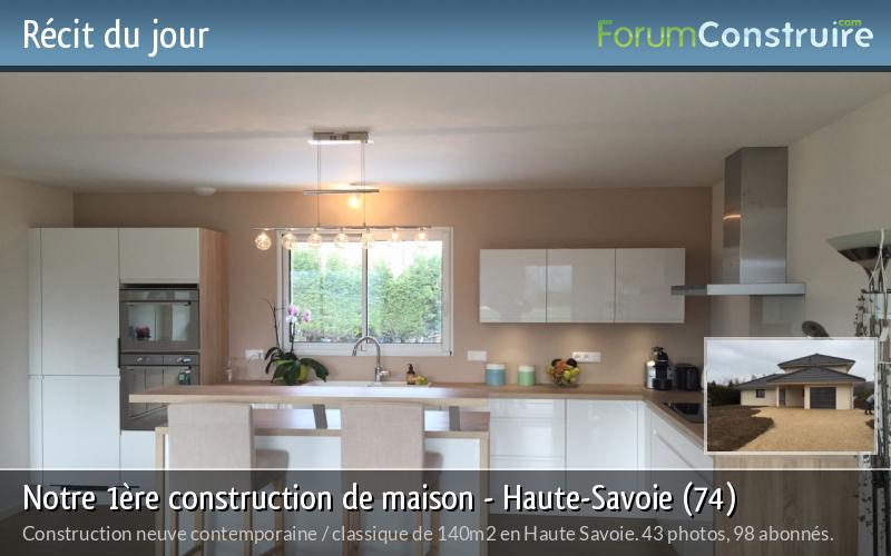 Notre 1ère construction de maison - Haute-Savoie (74)