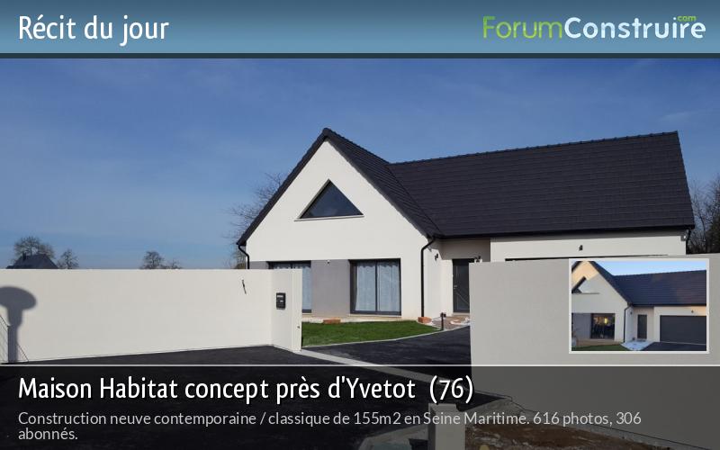 Maison Habitat concept près d'Yvetot  (76)