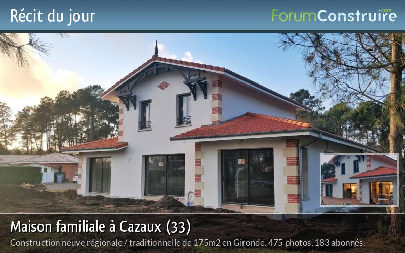 Maison familiale à Cazaux (33)