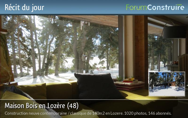 Maison Bois en Lozère (48)