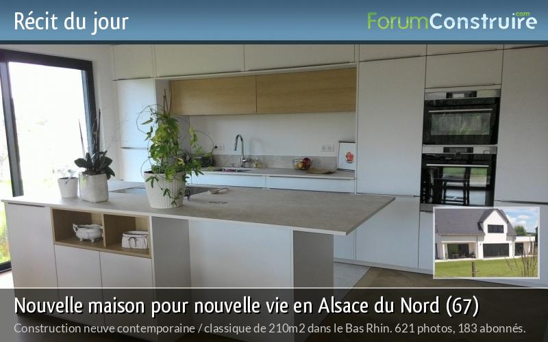 Nouvelle maison pour nouvelle vie en Alsace du Nord (67)