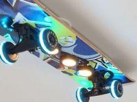 Easy Cruiser Graffiti Led Skateboard