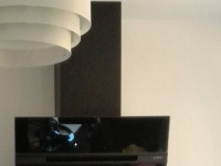 avis sur elica hotte decorative murale stripe black a 60. Black Bedroom Furniture Sets. Home Design Ideas