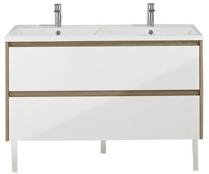 avis sur cooke lewis meuble sous vasque oreti 120 cm. Black Bedroom Furniture Sets. Home Design Ideas