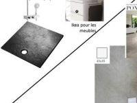 Receveur Stone Ardoise 90x90