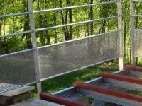 Ossature Et Pose D'un Balcon Avec Garde Corps En Alu Brut