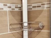 avis sur simplehuman etagere de douche extensible aluminium. Black Bedroom Furniture Sets. Home Design Ideas