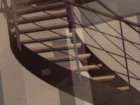 Escalier Kolateral Acier / Bois