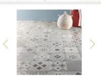 Carrelage Sol Et Mur Blanc Gris Effet Ciment Gatsby