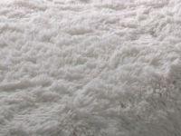 Plaid Imitation Fourrure Blanc 180x220cm