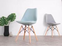 Chaise Design Metal Et Bois Dogewood