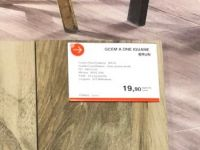 Iguane Brun Lame  15x61 Cm