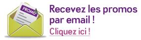 Les promos par email