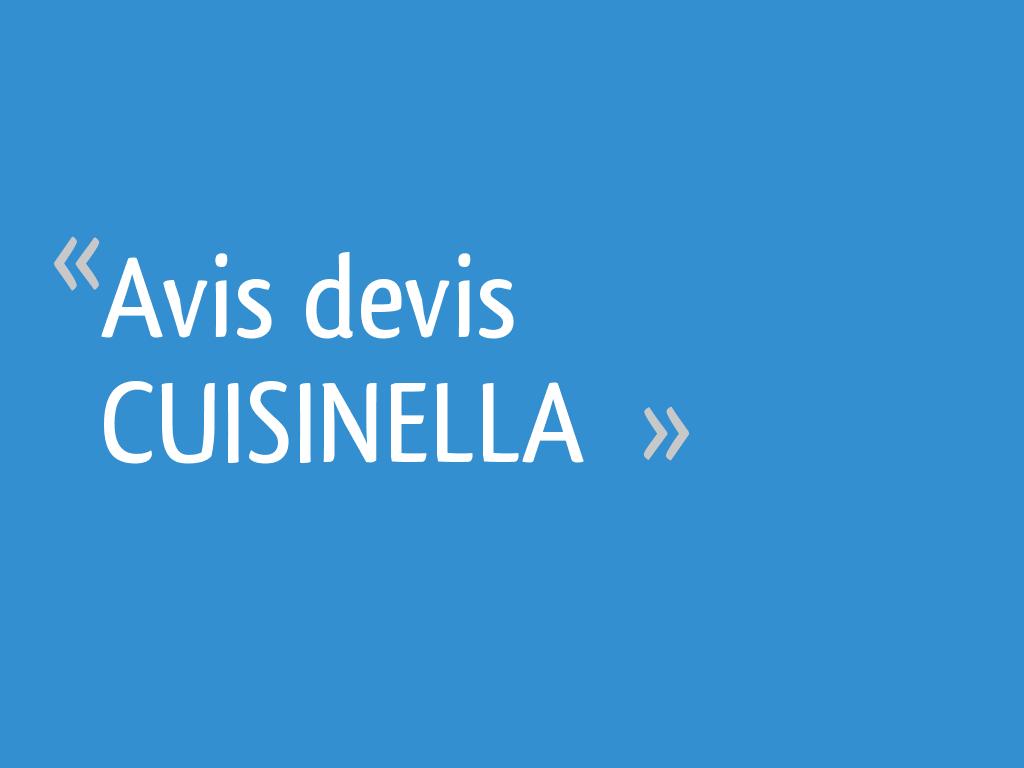 Avis devis cuisinella 22 messages - Forum cuisinella ...