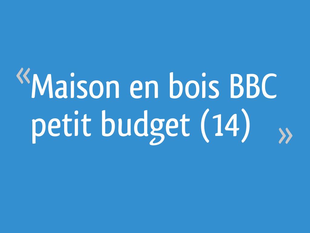 Maison en bois BBC petit budget (14)